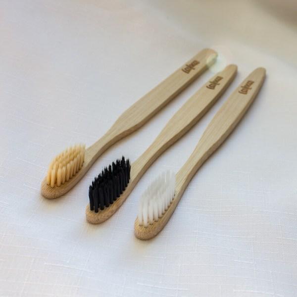 Bambusové zubné kefky 3ks | Ultra Soft Set