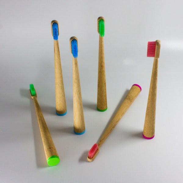 Bambusové zubné kefky Baobab