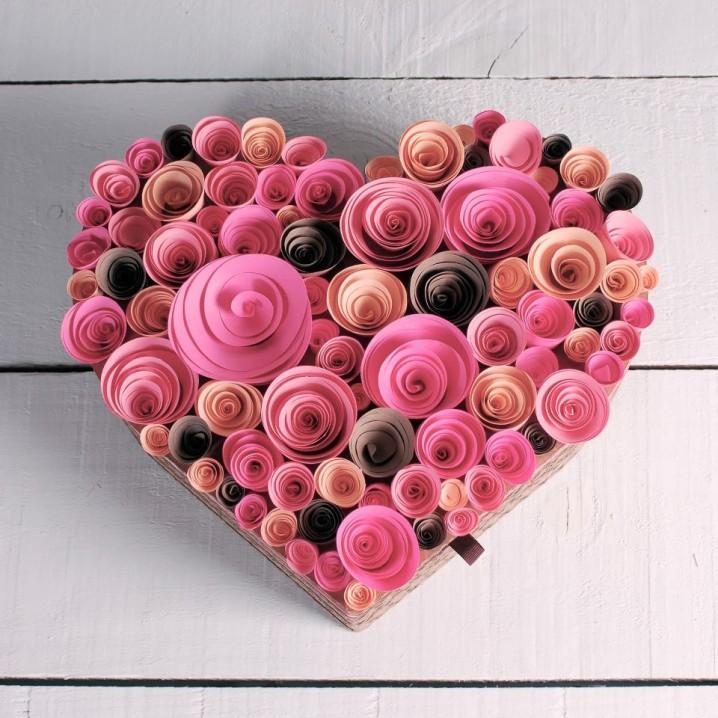 De Febrero Caja Del La Y De Para En Amor De Arreglos Dia El 14 14 Amistad Madera Febrero