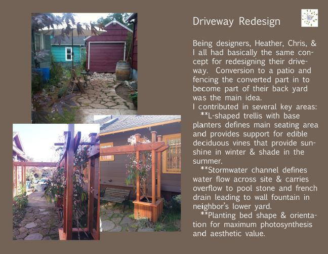 image: portolio stories driveway redesign