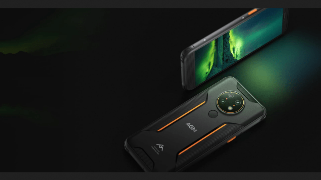 AGM's new H3 Rugged Smartphone has an IR Night Vision Camera