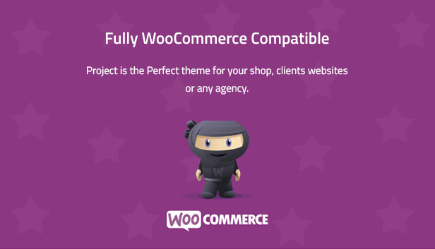 Project - Creative Multipurpose WordPress Theme is woocommerce ready