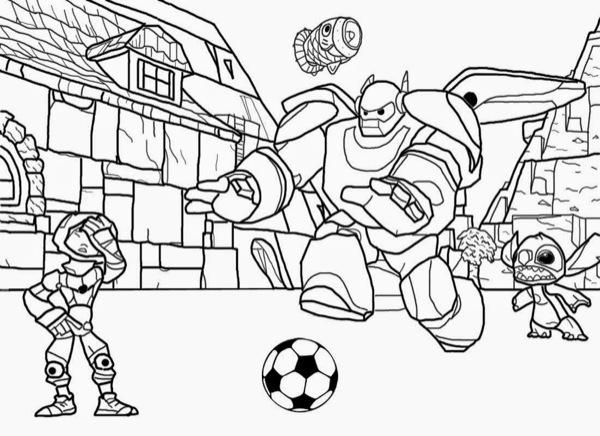 soccer coloring page # 15