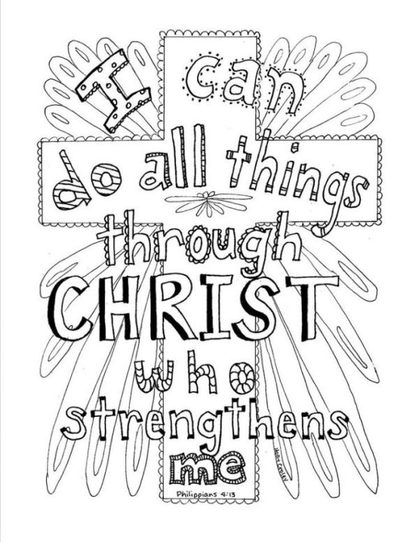 jesus on the cross coloring page # 66