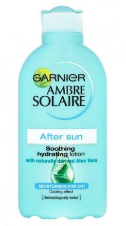 Loción hidratante Ambre Solaire After Sun Soothing de GARNIER