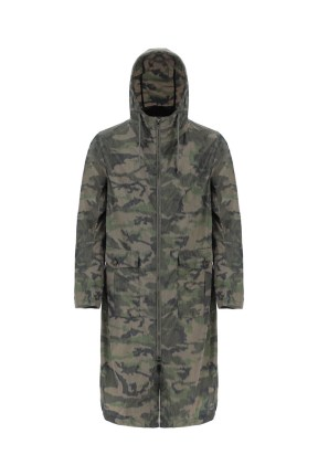HERNO GLOBE - SS 2021 - BLURRED RECYCLED CAMOUFLAGE