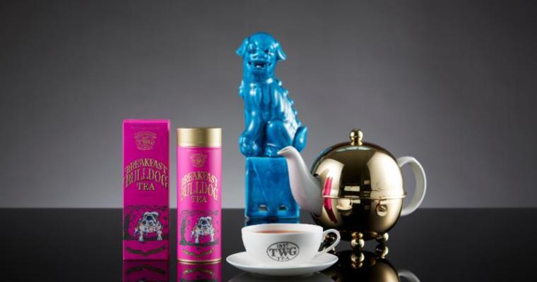 Behold the Shocking Pinkness of TWG's Breakfast Bulldog Tea