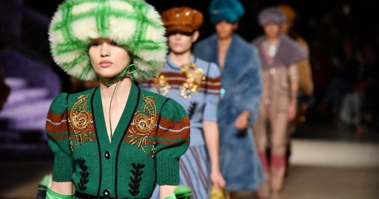 Miuccia Prada Inspired by 'Madness for Glamour'