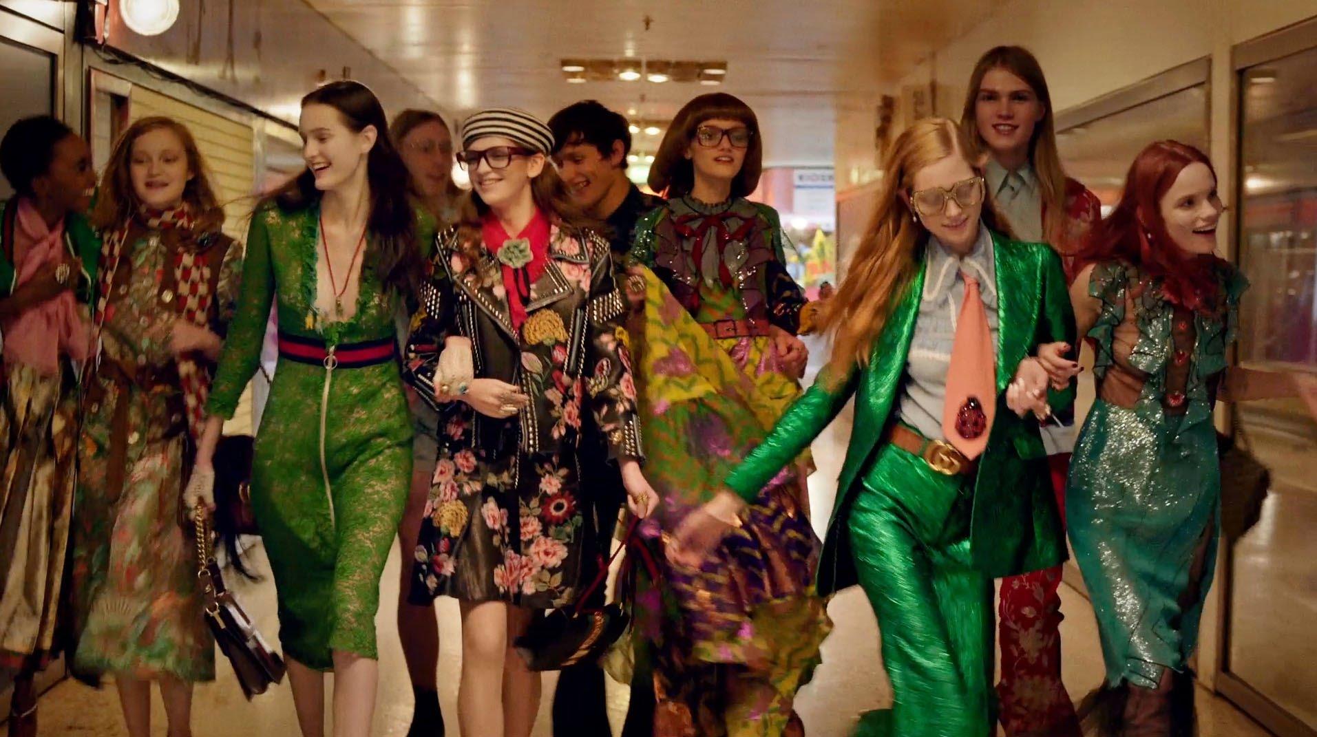 Gucci Seeks Love in a Smoky Pink Nightclub