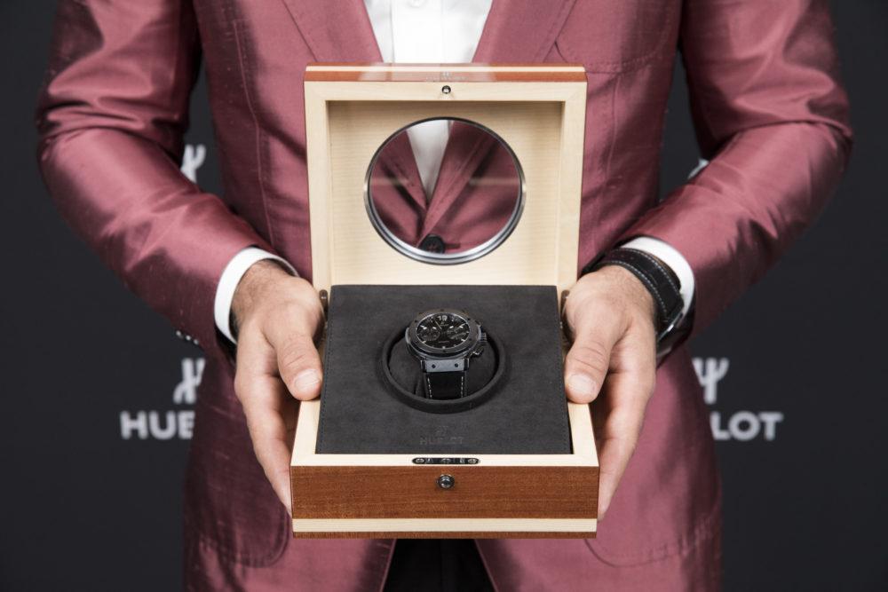"Hublot Vancouver Hosts New ""Jose Bautista"" Chronograph"