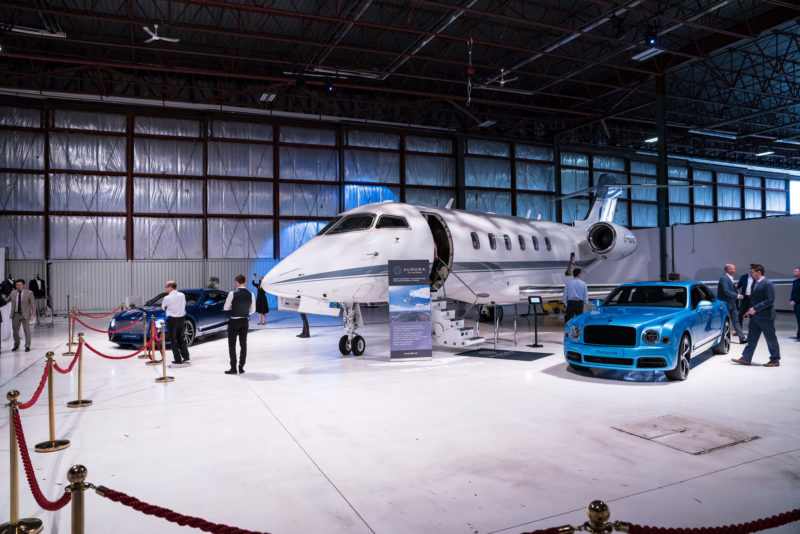 Redesigned Bentley Continental GT Launched at Aurora Jet Hangar [PHOTOS]