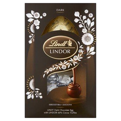 Lindt Lindor Extra Dark Chocolate Easter Egg
