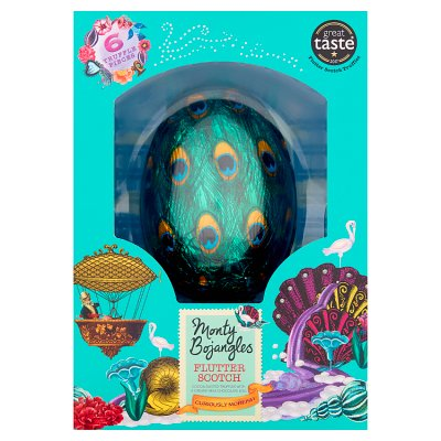 Monty Bojangles Flutter Scotch Chocolate Easter Egg