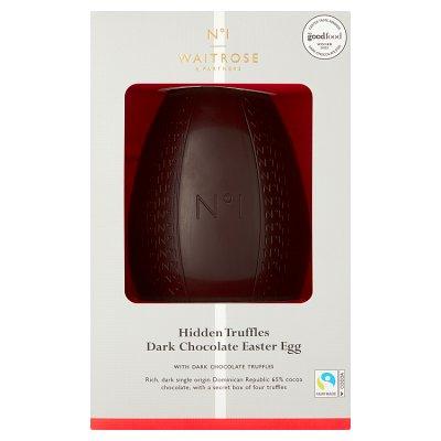 No.1 Dark Chocolate with Dark Chocolate Truffles Easter Egg