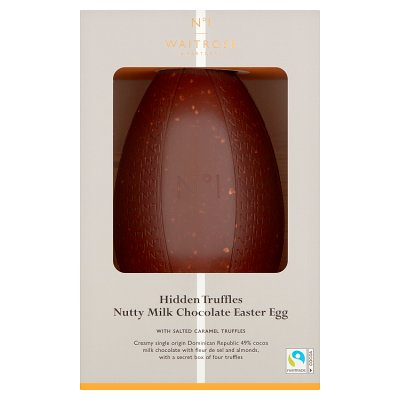 No.1 Milk Chocolate with Salted Caramel Truffles Easter Egg