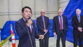 MR. Jeong Wook SEO, Senior Vice President, Daejoo-KC Group spoke of the close relationship between Daejoo-KC and EcoMag.