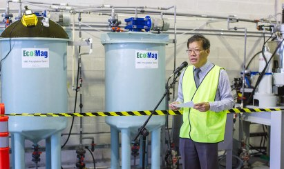 EcoMag's Chief Technology Officer, Professor Tam Tran describes some of the research EcoMag is involved in.