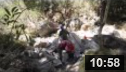 August 18-21, 25-28, September 2-4 - Arroyo Sequit Dam Removal.  This is a time lapse video of rag-tag volunteers from The Bay Foundation, State Parks and the Conservation Corps Camarillo 21 Sector removing the obsolete dam in Arroyo Sequit Creek. NOTE: Click on image to see video.