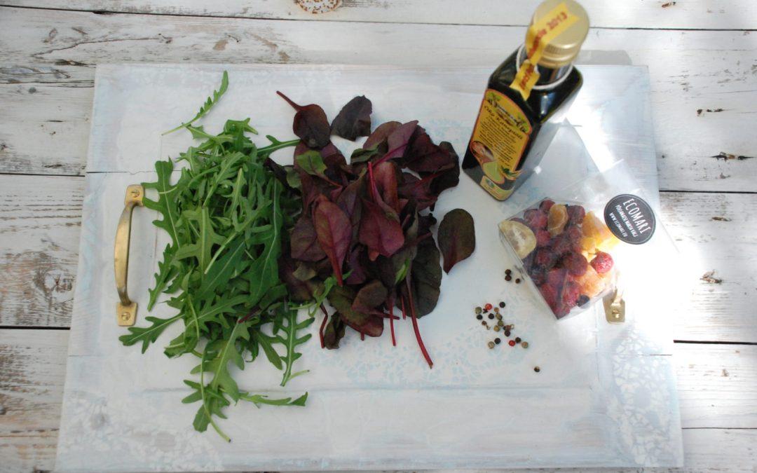 Nädala gurmeesoovitus: kirevase-päralt salat ehk läikiv jõhvikas roheluses