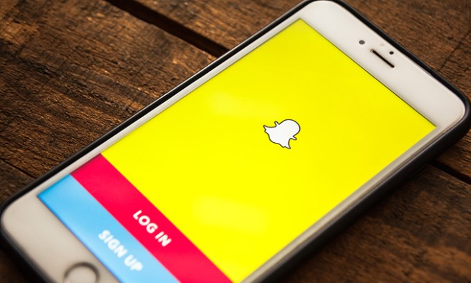 Snapchat annonces dropshipping