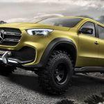 Mercedes-Benz celebra el estreno mundial de la Pick Up X-Class