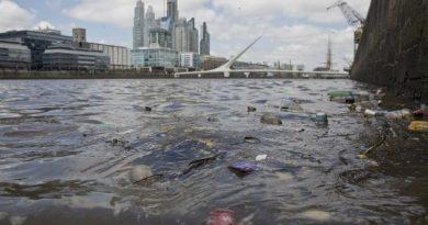 Los vecinos denuncian que el agua de Puerto Madero está contaminada