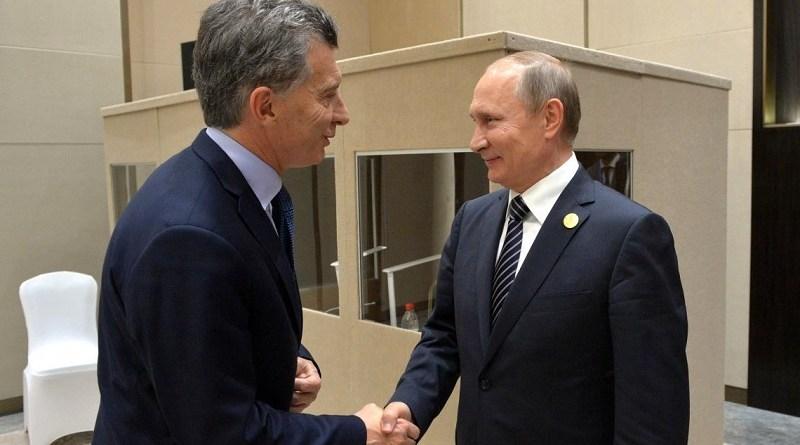 "Macri: ""La Argentina le da mucha importancia a la relación estratégica global con Rusia"""