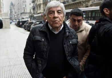 Hugo Moyano habló por el pedido de detención de su hijo.