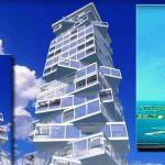 Edificio dinámico y giratorio