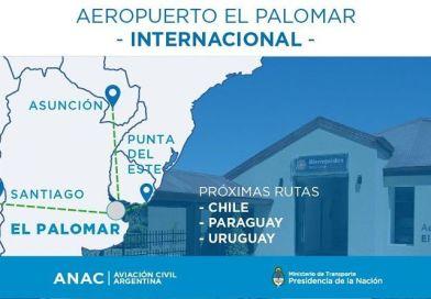 El aeropuerto de El Palomar sube a la categoría de Internacional