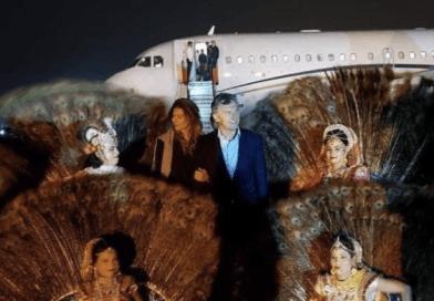 Macri llegó a la India en búsqueda de inversiones