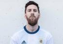 La Selección Argentina presentó su nueva camiseta con Messi como cara principal