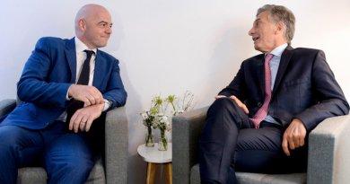 Mauricio Macri fue nombrado Presidente Ejecutivo de la Fundación FIFA