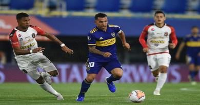 Boca goleó a Caracas y terminó primero del Grupo H
