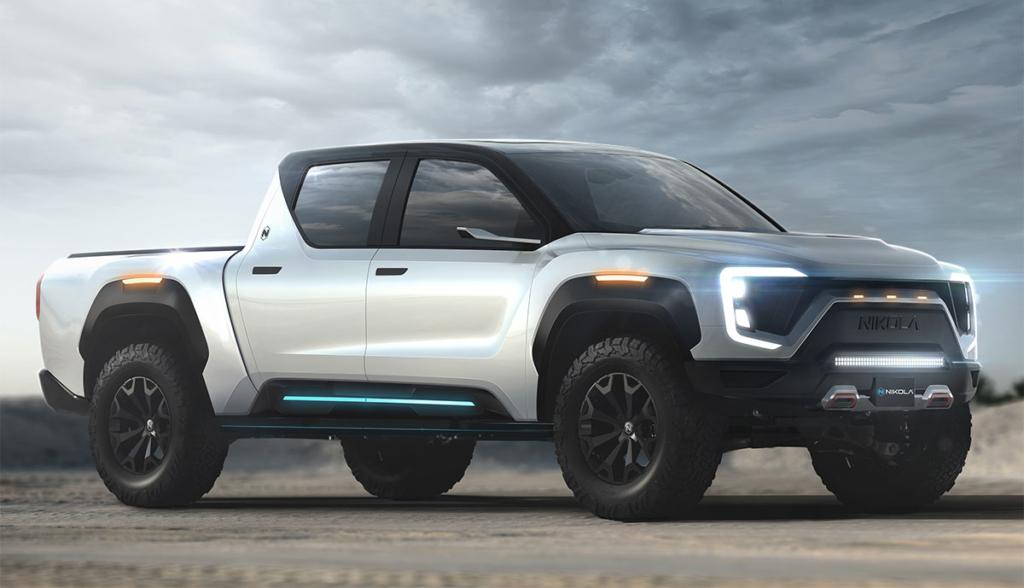 """Nikola Motor kündigt Elektro-Pickup-Truck """"Badger"""" mit optionaler Brennstoffzelle an"""