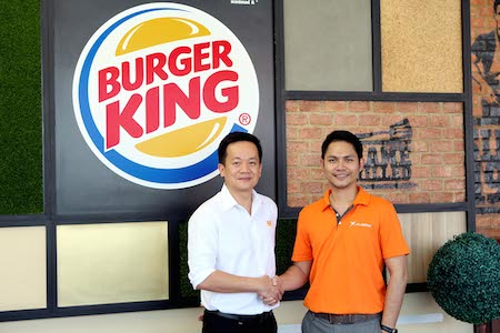 Burger King (Thailand) Lalamove Thailand