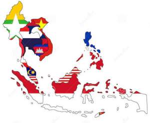 Southeast Asia ecommerce map