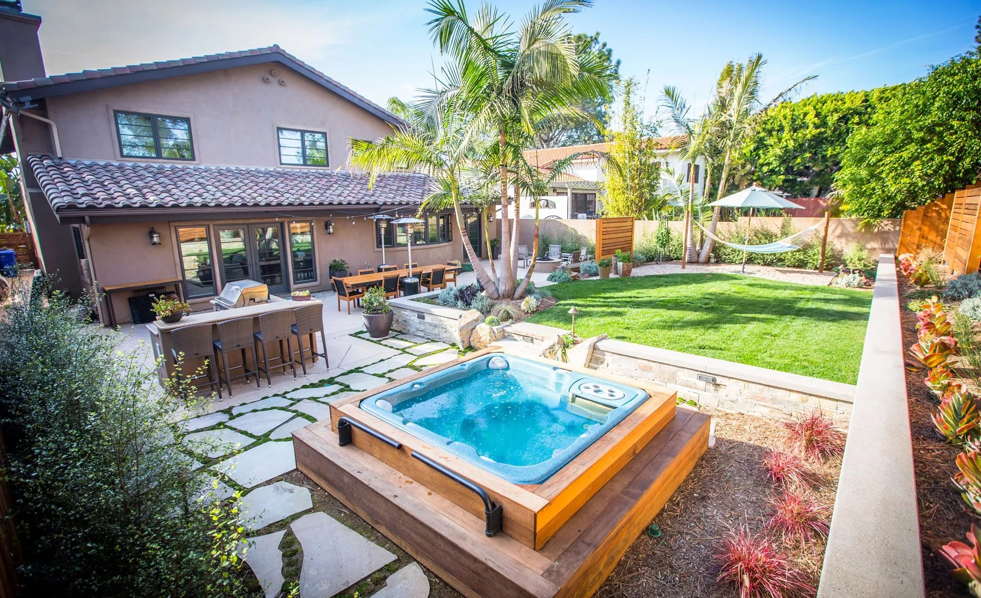 Tropical Landscaping in San Diego   Drought-Resistant ... on Tropical Backyard  id=85563