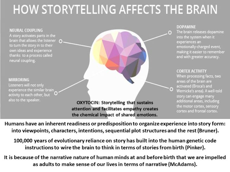How Brand Storytelling affects the brain