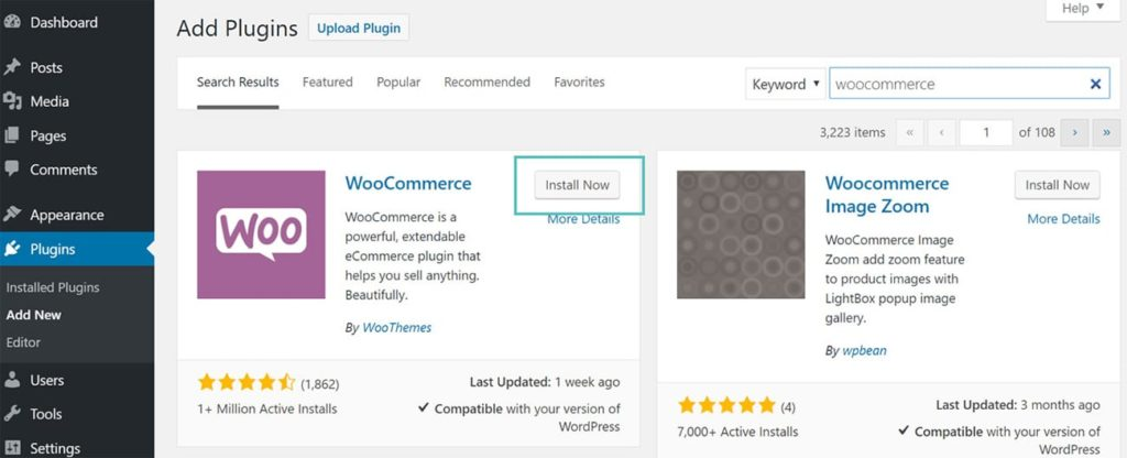 How to Create WooCommerce Store 1