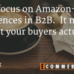 Do B2B Buyers really need an Amazon like experience?