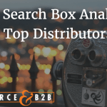 The top Distributors are investing in their search box.  Are you?