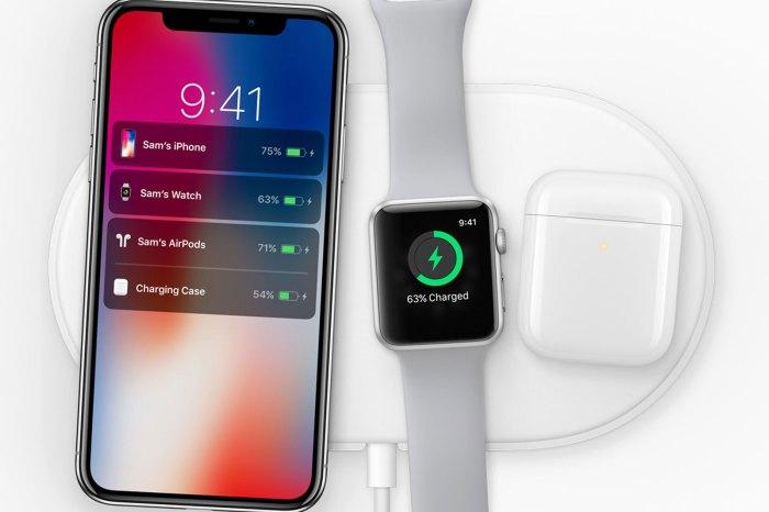 AirPower: El nuevo cargador inalámbrico para iPhone X, AirPods y Watch 3