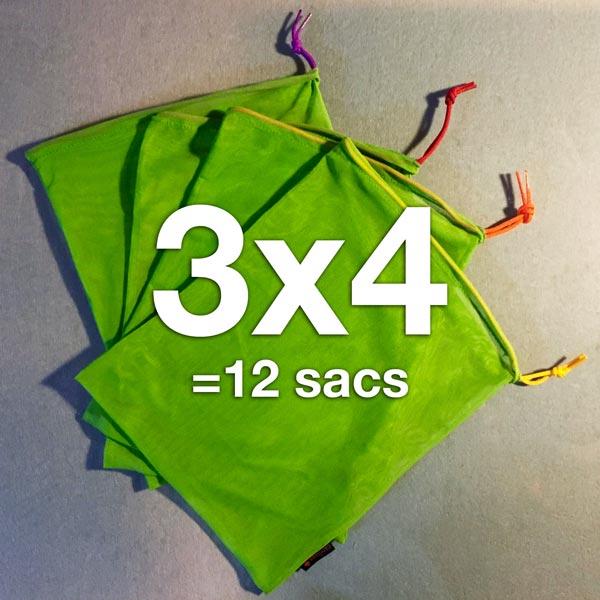 12 ÉcoSacs Carebags®