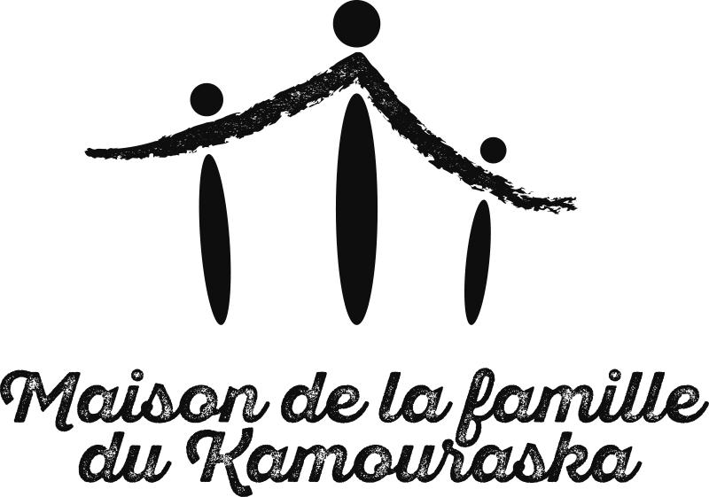 Le logo noir et blanc