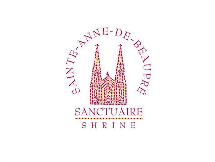 Logo et papeterie conçue et réalisée pour le Sanctuaire Sainte-Anne-de-Beaupré.