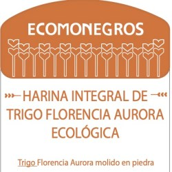 Harina integral de trigo Florencia Aurora ecológica