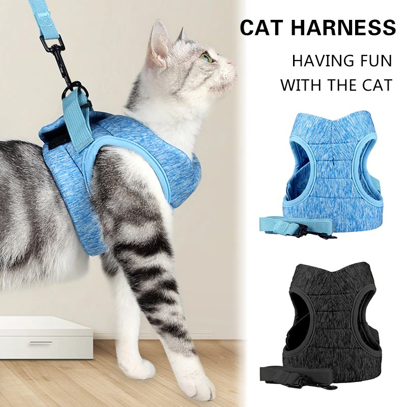 Adjustable-Cat-Harness-Pet-Anti-Escape-Harnessleash-Set-Breathable-Soft-Vest-For-Small-Dogs-Cats-Outdoor