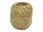 ball of natural coloured hemp twine