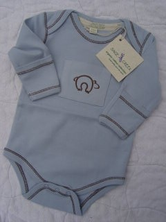 Sage Creek Naturals Blue Bear Onsie
